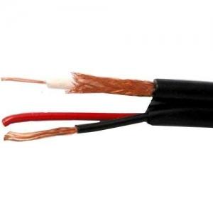 кабель для видеонаблюдения кксп 2х0.5мм.