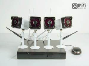 Комплект Wi-Fi  видеонаблюдения