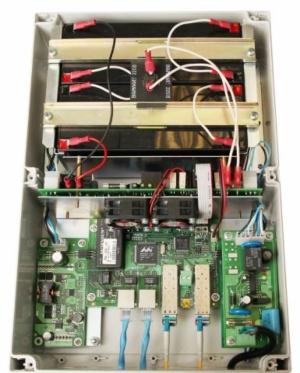 Уличный коммутатор TFortis PSW-2G2F+UPS