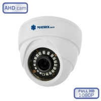Антивандальная видеокамера MATRIX DW1080AHD20XF (2,8мм)