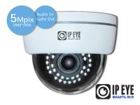 купольная 5мп ip-камера ipeye-3801+wifi