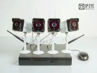 Комплект Wi-Fi  видеонаблюдения IPEYE WiFi IP KIT-NVR4HDCAM