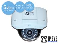 уличная антивандальная  ip-камера 5mp ipeye-3805p