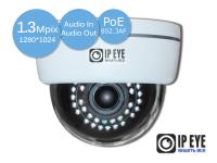 купольная 1,3мп ip-камера ipeye-3835bp