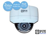уличная антивандальная 2мп ip-камера ipeye-3837ap