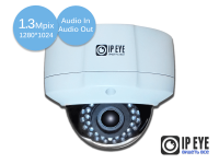 уличная антивандальная 1,3мп ip-камера ipeye-3837b