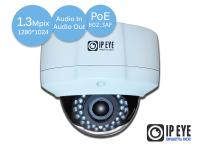 Уличная антивандальная 1,3Мп IP-камера IPEYE-3837BP