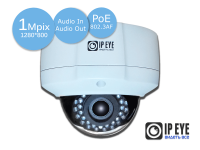 уличная антивандальная 1мп ip-камера ipeye-3853ps